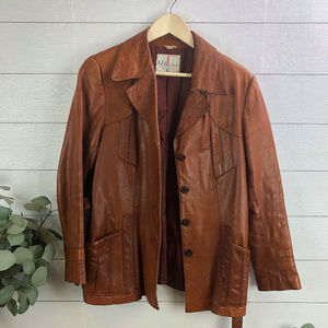 Vintage Wilsons Leather Women's Jacket Size 16